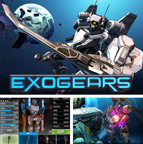 In addition to the game Battle of airway for iPhone, iPad or iPod, you can also download Exo gears for free.