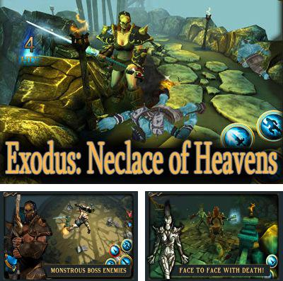 In addition to the game 3D City Run 2 for iPhone, iPad or iPod, you can also download Exodus: Neclace of Heavens for free.