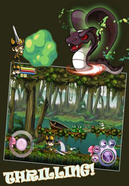 Capturas de pantalla del juego Expedition Unlimit para iPhone, iPad o iPod.