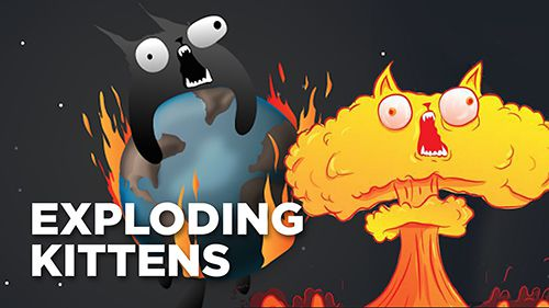 Exploding kittens iPhone game - free  Download ipa for iPad