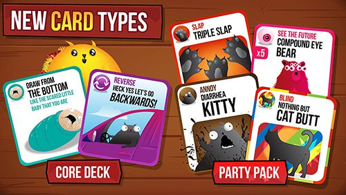 Download Exploding kittens iPhone free game.