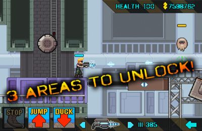 Screenshots of the eXtermination game for iPhone, iPad or iPod.