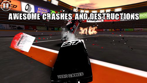 Screenshots of the Extreme gear: Demolition arena game for iPhone, iPad or iPod.