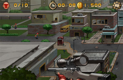 Screenshots of the Eye of Death game for iPhone, iPad or iPod.
