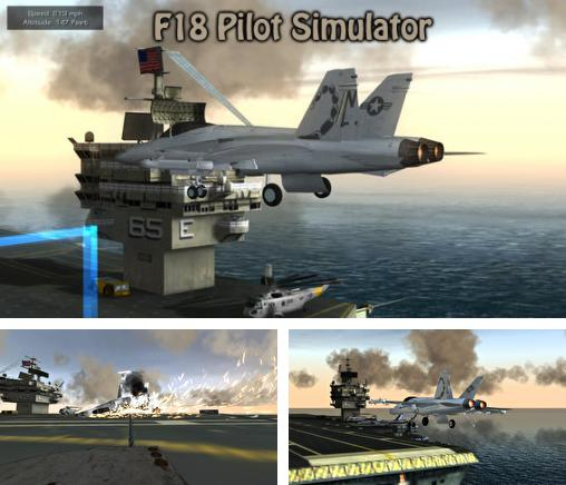 In addition to the game Chibi chasers for iPhone, iPad or iPod, you can also download F18 Pilot Simulator for free.