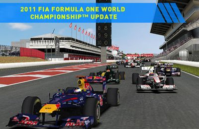 Capturas de pantalla del juego F1 2011 GAME para iPhone, iPad o iPod.