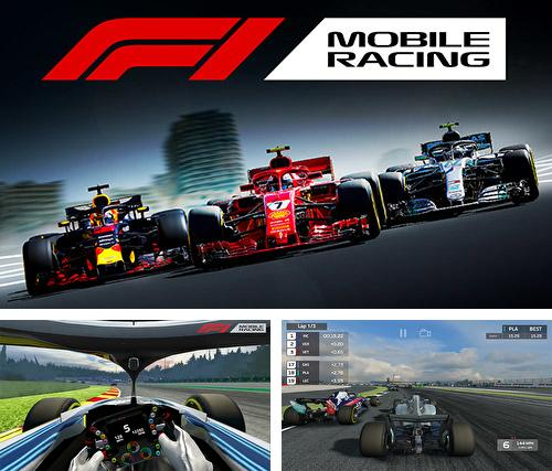 In addition to the game Bike mania for iPhone, iPad or iPod, you can also download F1 mobile racing for free.