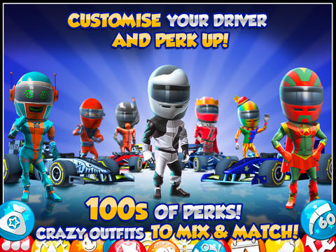 Free F1 Race stars download for iPhone, iPad and iPod.