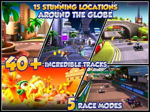 Screenshots of the F1 Race stars game for iPhone, iPad or iPod.