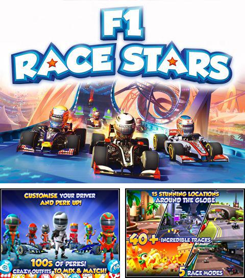 In addition to the game LEGO Batman: DC Super Heroes for iPhone, iPad or iPod, you can also download F1 Race stars for free.