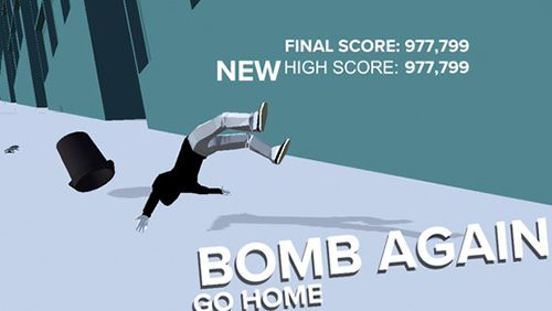 Capturas de pantalla del juego F-bomb skate para iPhone, iPad o iPod.