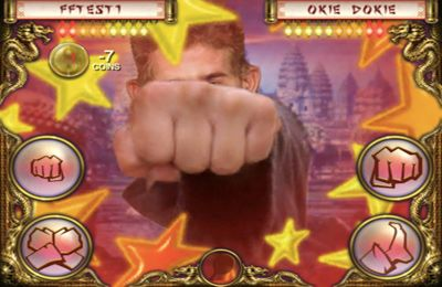 Capturas de pantalla del juego FaceFighter Ultimate para iPhone, iPad o iPod.