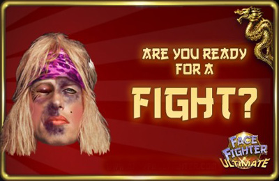Écrans du jeu FaceFighter Ultimate pour iPhone, iPad ou iPod.