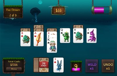 Скачать игру Faerie Solitaire Mobile HD для iPad.