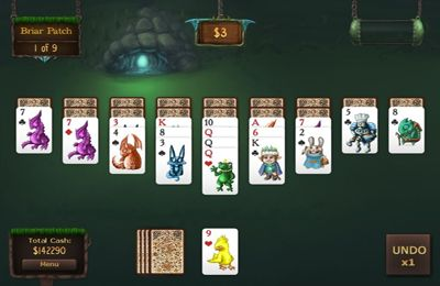 Capturas de pantalla del juego Faerie Solitaire Mobile HD para iPhone, iPad o iPod.