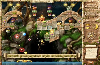 Écrans du jeu Fairy Treasure pour iPhone, iPad ou iPod.