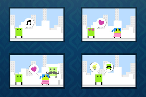 Capturas de pantalla del juego Fall in love: The game of love para iPhone, iPad o iPod.