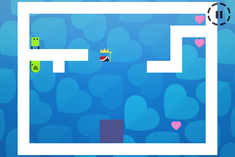 Screenshots do jogo Fall in love: The game of love para iPhone, iPad ou iPod.