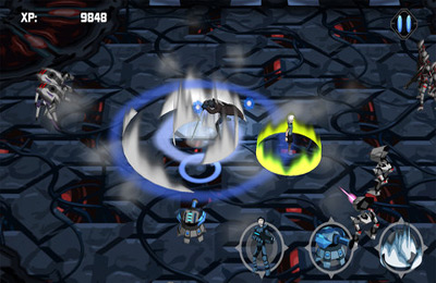 Screenshots of the Fallen World game for iPhone, iPad or iPod.