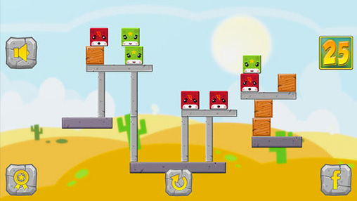Download Falling cube: Saga iPhone free game.