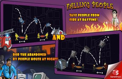 Download Falling People iPhone free game.