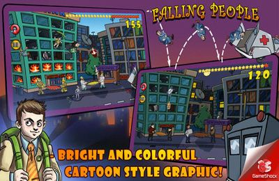 Free Falling People download for iPhone, iPad and iPod.