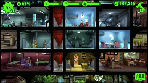 Screenshots do jogo Fallout shelter para iPhone, iPad ou iPod.