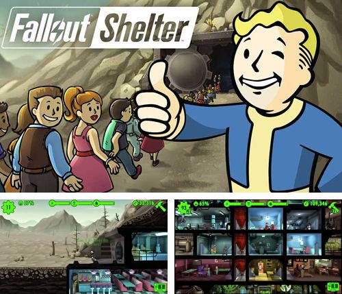 In addition to the game Racing Rivals for iPhone, iPad or iPod, you can also download Fallout shelter for free.