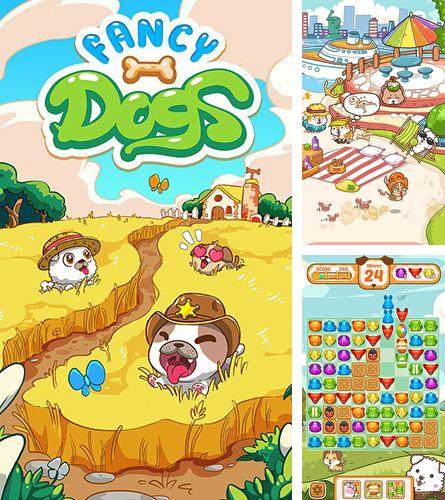 除了 iPhone、iPad 或 iPod 口袋军队游戏,您还可以免费下载Fancy dogs: Puzzle and puppies, 。