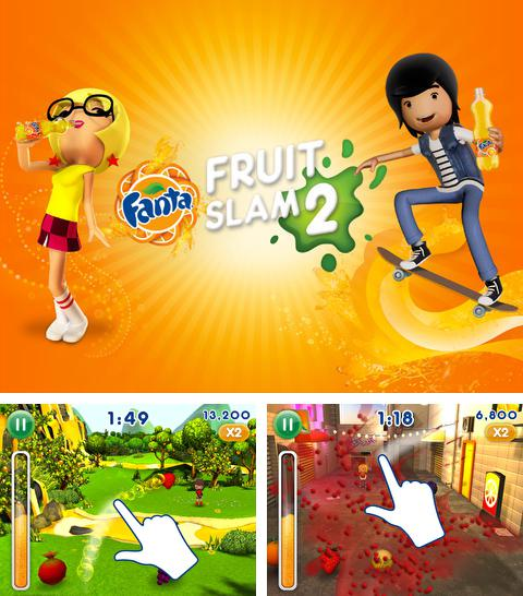 In addition to the game Socioball for iPhone, iPad or iPod, you can also download Fanta Fruit Slam 2 for free.