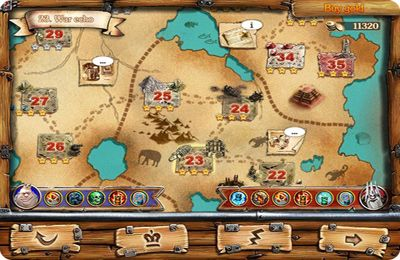 Screenshots of the Fantasy Conflict game for iPhone, iPad or iPod.