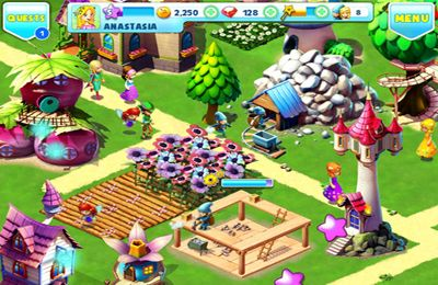 Kostenloser Download von Fantasy Town — Enter a Magic Village! für iPhone, iPad und iPod.