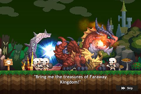 Descarga gratuita de Faraway kingdom: Dragon raiders para iPhone, iPad y iPod.
