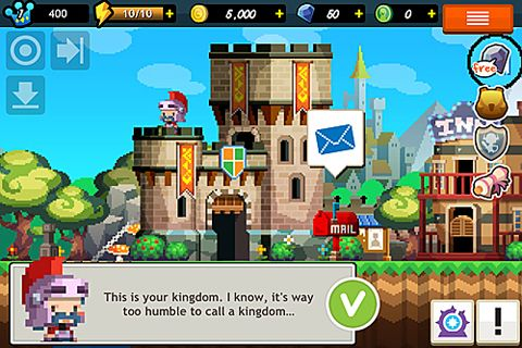 Capturas de pantalla del juego Faraway kingdom: Dragon raiders para iPhone, iPad o iPod.