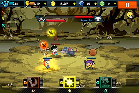 Écrans du jeu Faraway kingdom: Dragon raiders pour iPhone, iPad ou iPod.
