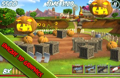 Download Farm Destroy: Alien Zombie Attack iPhone free game.