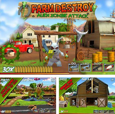 In addition to the game T-80 Darts for iPhone, iPad or iPod, you can also download Farm Destroy: Alien Zombie Attack for free.