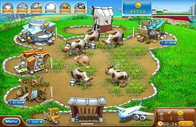 iPhone、iPad および iPod 用のFarm Frenzy 2: Pizza Party HDの無料ダウンロード。
