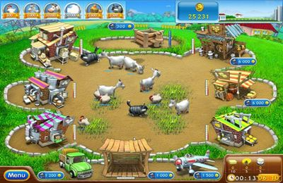 Écrans du jeu Farm Frenzy 2: Pizza Party HD pour iPhone, iPad ou iPod.