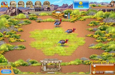 Free Farm Frenzy 3 – American Pie download for iPhone, iPad and iPod.