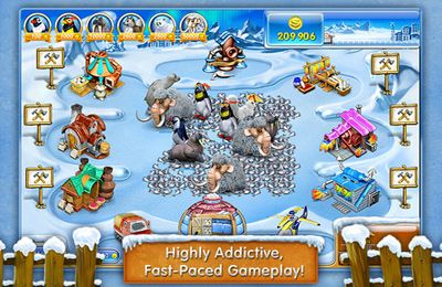 Download Farm Frenzy 3 – Ice Domain iPhone free game.