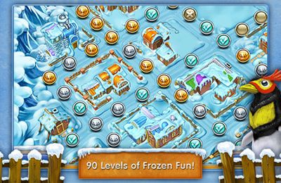 Screenshots vom Spiel Farm Frenzy 3 – Ice Domain für iPhone, iPad oder iPod.