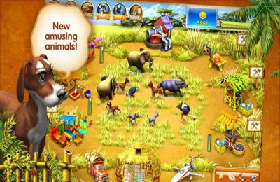 Baixe Farm Frenzy 3 – Madagascar gratuitamente para iPhone, iPad e iPod.