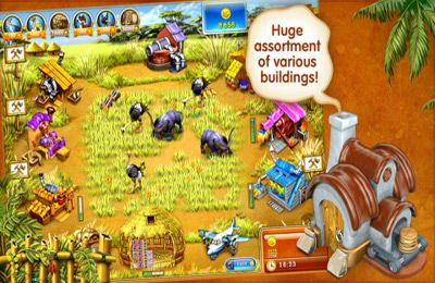 Игра Farm Frenzy 3 – Madagascar для iPhone