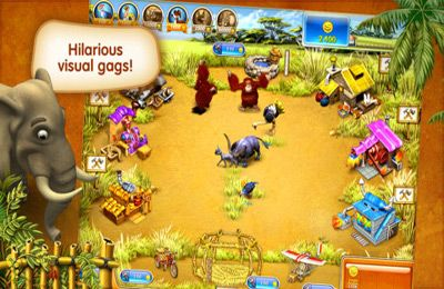 Farm Frenzy 3 – Madagascar iPhone game - free  Download ipa for iPad