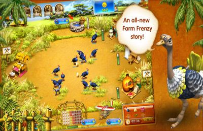 Écrans du jeu Farm Frenzy 3 – Madagascar pour iPhone, iPad ou iPod.