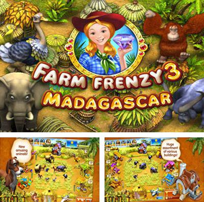 In addition to the game My Om Nom for iPhone, iPad or iPod, you can also download Farm Frenzy 3 – Madagascar for free.