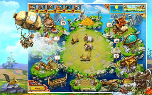 Download Farm frenzy: Viking heroes iPhone free game.