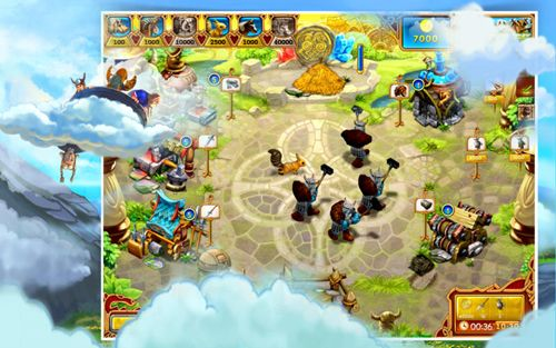 iPhone、iPad および iPod 用のFarm frenzy: Viking heroesの無料ダウンロード。