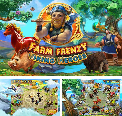 In addition to the game Happy Dinos for iPhone, iPad or iPod, you can also download Farm frenzy: Viking heroes for free.